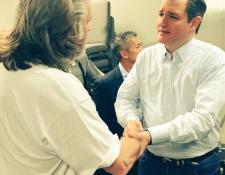 Ted Cruz Shaking Hands
